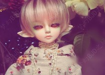 BJD doll 4 points Kid Delf Girl BORY 1 4bjd senior resin toys holiday gifts