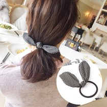 Large childrens head rope colored Tide people pastoral Girls Children big bow rubber band Little Girl hair circle