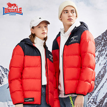 LONSDALE dragon lion Dyer outdoor down jacket female autumn   winter 2019 fashion warm male jacket 338421310