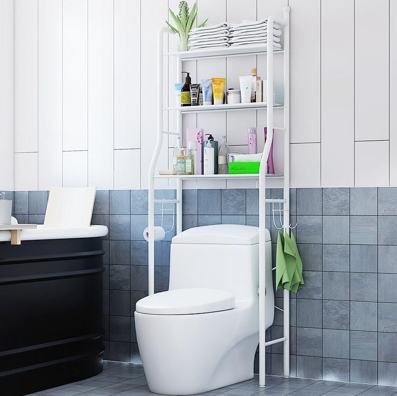 Home Improvement Creative Balcony Hanging Wall Kitchen Storage Rack Mul Tifunctional Free Combination Bathroom Toilet Shelf Bathroom Hardware