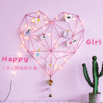 ins girl heart room Lantern background small fresh arrangement small bulb decoration string lights dormitory romantic plug