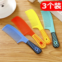 10 mounted vintage pearlescent comb home plastic wood comb cooked rubber men and women models bath portable comb thickening hair comb