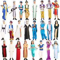COS Masquerade Ball Childrens Arab Middle Eastern Prince Dress Girl Aladdin Greek Princess Costume