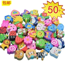 Toys primary school rotating art black funny supplies children pencil with Eraser cartoon cute strawberry