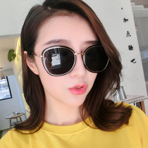 New Lady Sunglasses Korean version tide polarized sunglasses womens net anti-ultraviolet star retro Harajuku style glasses