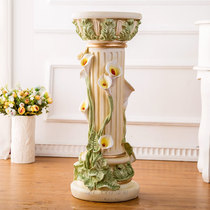 Lucky creative Roman column decoration indoor floor flower stand beauty salon decorations opening into the new house gifts