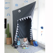 ins explosion children's room shark modeling bed mantle baby ceiling game house large tent indoor toy house