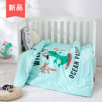 Kindergarten quilt knitted cotton single piece 1 2m1 5m baby children special student single bed can be customized