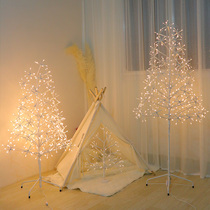 Tree lamp ins girl heart room bedroom Sen Department layout Network red fairy life romantic New Year decoration stars Lantern