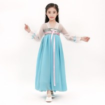 New 61 childrens costumes studio theme show Tang dress girls hanbok dress skirt cute little princess costumes