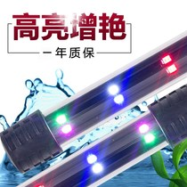 Super bright LED Fish Tank diving lamp led waterproof lighting lamp water lamp small three-color amphibious plants