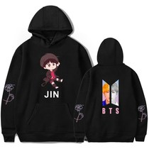 2019 BTS cute hoodie youth trend hoodies for men and women