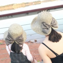 Male baby spring and summer summer Dome ladies rattan children new adjustment thin section Japanese fisherman hat shade female models