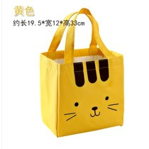 Lunch box waterproof handbag hand carry lunch bag lunch box with rice bag canvas insulation bag handbag