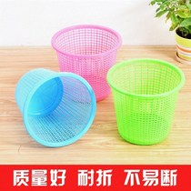 Living room plastic hollow garbage household kitchen trash small hollow uncovered office trash cans baskets