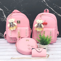 2018 New teen shoulder bag girl fashion Princess Girl Travel Bag Elementary school backpack Cute Tide