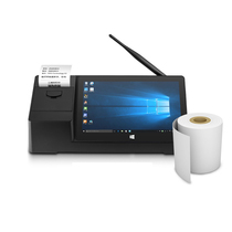 Spot express Pipo Pinplatinum X3 Pipo Pinplatinum X3 WIFI 8.9-inch four-core genuine win10 single system tablet pos all-in-one machine small ticket invoice printer