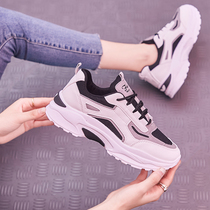 Sneakers womens 2019 new autumn womens shoes students ins hundred autumn and winter leisure autumn shoes thick-soled running tide shoes