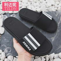2019 New waichuan cool slippers male Summer non-slip trend Korean soft bottom outdoor personality mens net red slippers