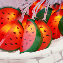 LED small Lantern Flash string lights Starlight string childrens room bedroom decoration fruit watermelon photo props