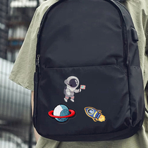 Astronaut exquisite embroidery cartoon cloth DIY handmade patch Longxiang bag bag clothes decoration patch
