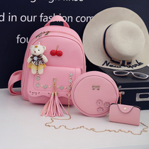 Cute Princess Kindergarten school student schoolbag fashion girl children travel backpack in the big boy double shoulder foreskin tide