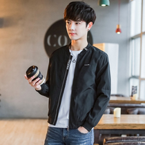 Law School Eagle spring and autumn casual jacket male jacket Korean version of the trend of handsome slim thin section jacket baseball long-sleeved shirt