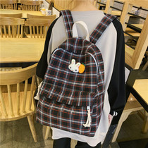 Shoulder bag 2019 new junior and high school students school bag female Korean high school large capacity cute girl backpack tide