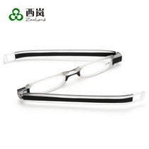Rotating unisex ultra-light comfort compact folding portable portable anti-fatigue HD elderly presbyopia glasses