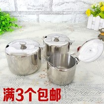Boxed box household fast food restaurant condiment box round material ingredients seasoning tank spoon seasoning box