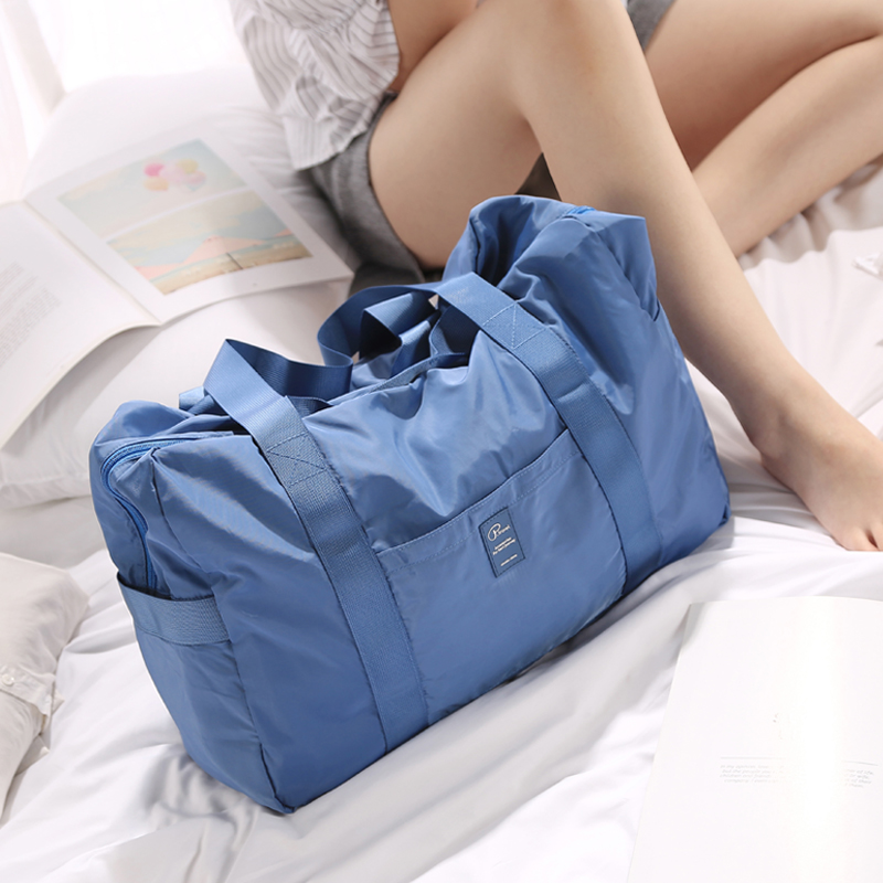 Foldable travel bag travel bag handbag bag carrying lever bag bulk travel bag shopping bag