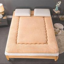Velvet mattress 1.8m thick winter 2m double 1.5 family bed single warm student dormitory mat.