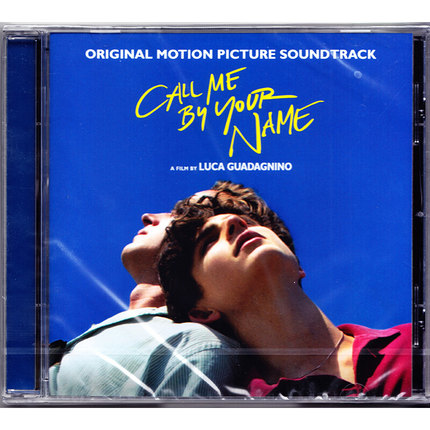 Genuine Call Me You By Name Please call me movie soundtracke CD in your name