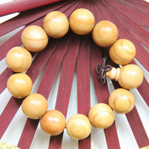 Fat City pure natural mahogany Buddha beads hand-stringed bracelets to protect the peace mens models without spray paint old mahogany bracelets.