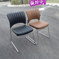 Factory direct sales conference chair training chair mahjong chair computer chair staff chair no armrest art student chair special price.