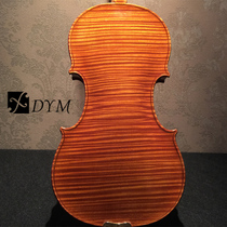 Dingmei Studio Handmade Solid Wood Patterned Violin Adult Childrens Beginners Test-level Violin Instruments.