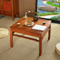 Art League Yum Myanmar pear generous stool Ming-style 杌 stool redwood Zen stool home small coffee table leisure table.