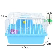 Hamster Cage Villa Hamsters Nest Small Field Double Luxury Hamster Cage Villa House Supplies