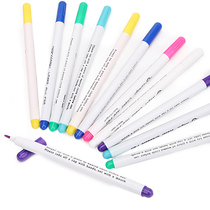 Clothing cut pen clothes gas water wash note number pen faded pen cross-stitch point line water-soluble pen.