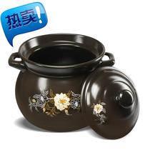 Ceramic pot soup casserole soup pot soup pot high 6 warm pot soup large straight to cook porridge pot special pot.