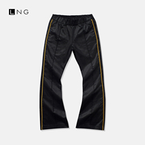 LNG casual pants ladies 2020 new autumn womens pants fashion flat knit sweatpants.
