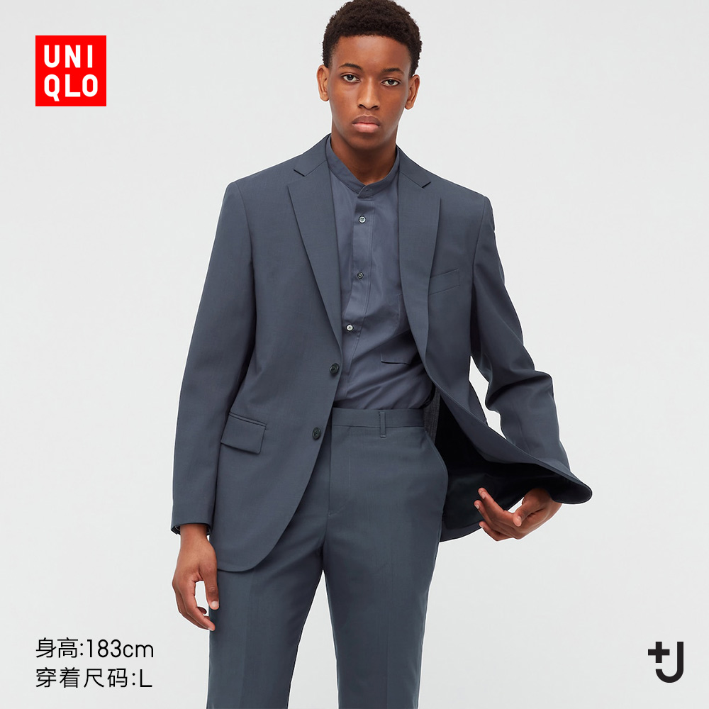 Uniqlo (Designer Collaboration) Mens Wear . . . J Wool Jacket (Suit) 439932