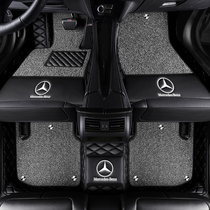 The Mercedes a200l foot pads are completely surrounded by carpeted mats in the modified car which are double-layered waterproof and tasteless.