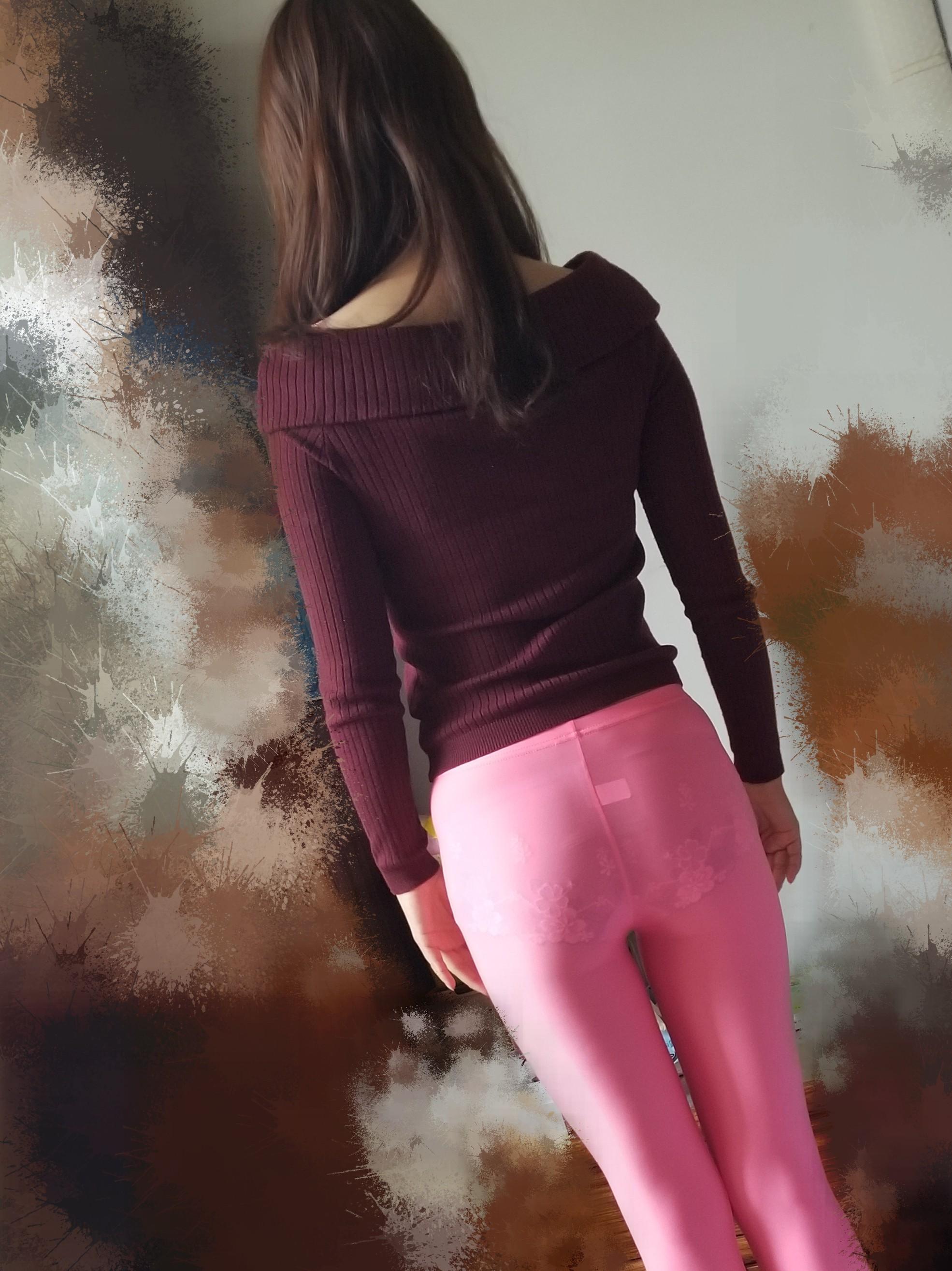 内裤和长裤都很透,很优秀!
